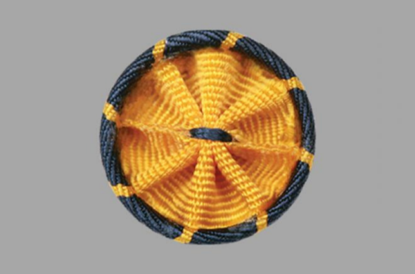 photo of rosette worn by AAAS Fellows